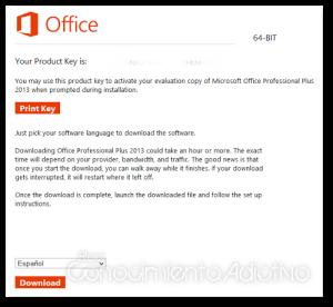 descargar office 2013 professional plus